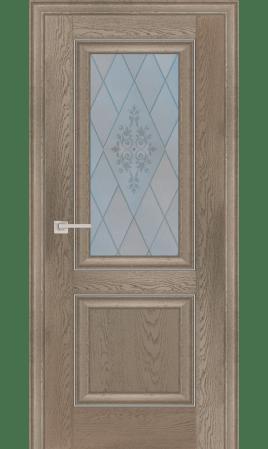 Межкомнатная дверь 27В (Дуб гарвард бежевый)