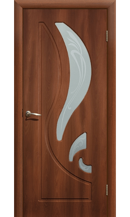 Межкомнатная дверь Лиана ДО (Итальянский орех)