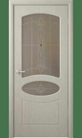 Межкомнатная дверь Венеция (Беленый дуб)