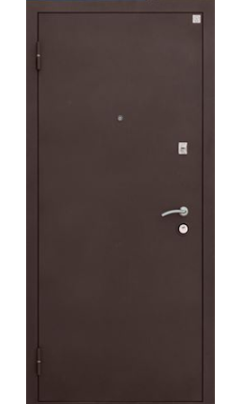 Дверь стальная Алмаз 11 Прага (Черный шелк/Кипарис темный)